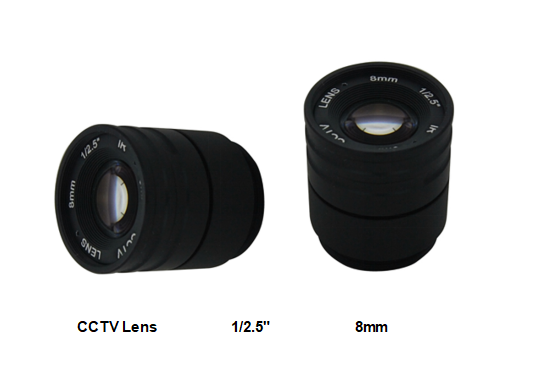 Manual Focus CS Camera Lens 26.5°-106° Field Cs Mount Super Extra Camera Lens