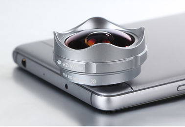 China Universal Clip Lens Mobile Phone Camera , 0.36X Clip On Phone Lens 4.1mm Focal Length supplier