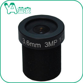 China Durable Dome Camera MTV Mount Lens HD 5 Million Wide Angle Black Color supplier