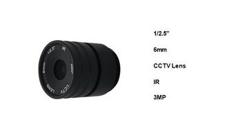 China Outdoor Wireless CCTV Security Camera Lens , CCTV Camera Wide Angle Lens Φ28×32.2 supplier