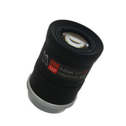 China Security CS Camera Lens Focal Length 9-22 Mm 41°-19° Field With Customized Logo supplier