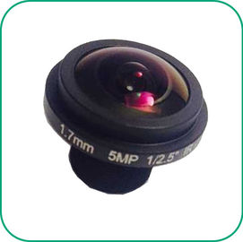 China 190 Degree Wide Angle Fish Eyes Lens 1/2.7'' Sensor Manual Focus / Fix Zoom distributor