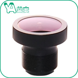 China F2.0 3.1mm Camera Lens M12 Wide Angle Lens , CCTV Board Lens For Dome Camera distributor