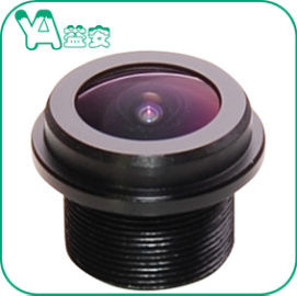 China 190° Wide Angle Board  / Dome Camera Lens 1.5mm F2.4 Aperture 5Mp M12 Mount distributor